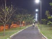 Pista do Botânico ganha nova iluminação LED