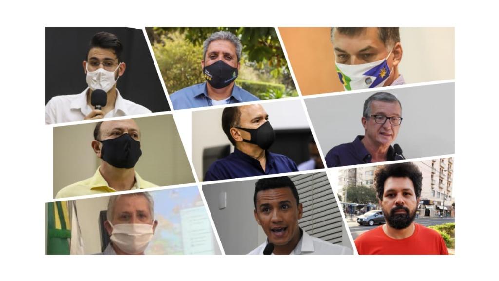 Nove candidatos disputam a preferência do eleitor em Araraquara (Arte: ACidadeON) - Foto: ACidade ON - Araraquara