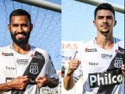 Ponte Preta apresenta três novos reforços para a equipe