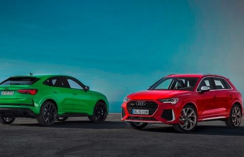 Novos RS Q3 e RS Q3 Sportback da Audi (Foto: Divulgação) - Foto: Divulgação