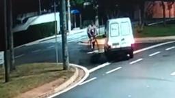Polícia identifica motorista na contramão que atropelou ciclista