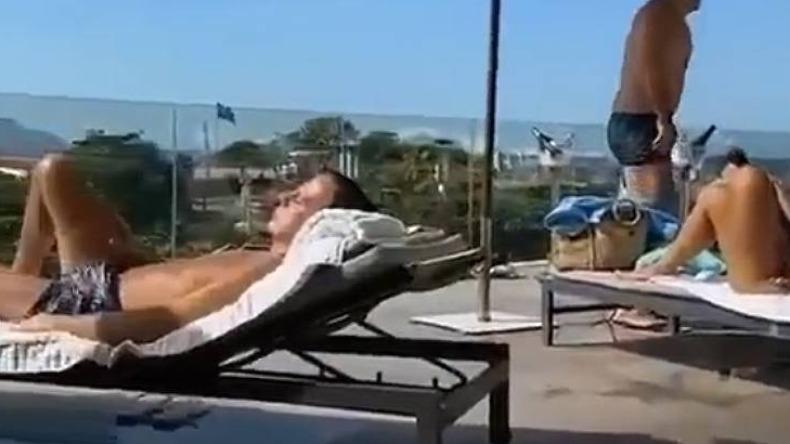 Doria toma sol sem máscara em piscina de hotel no Rio e vira alvo de  bolsonaristas - Política - ACidade ON Circuito das Águas