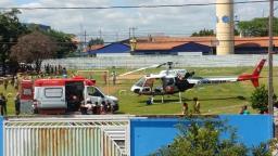 Homem fica ferido após cair de laje em Sumaré
