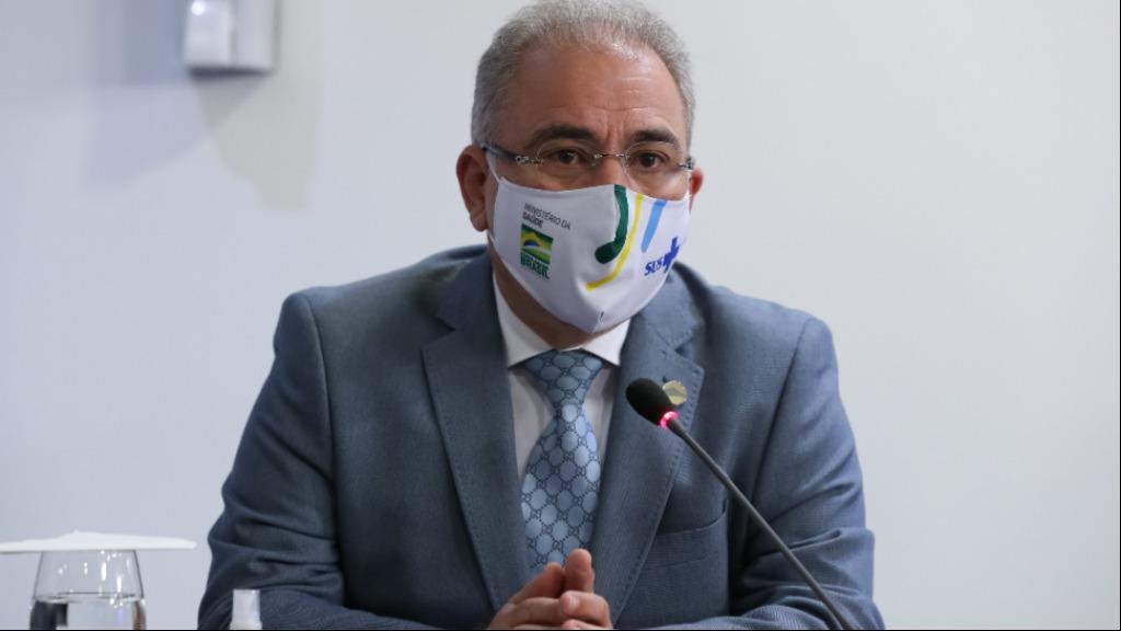 O ministro da Saúde Marcelo Queiroga (Foto: Marcos Corrêa/PR) - Foto: Marcos Corrêa/PR