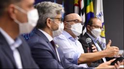 VÍDEO - Dário faz live sobre medidas contra a covid-19