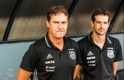 (Foto: PontePress) - O técnico interino João Brigatti falou sobre a vitória em Araraquara. (Foto: PontePress)