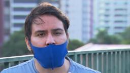Homem que agrediu mulher em sorveteria diz que foi atacado antes