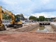 Canalização do Córrego Invernada entra na fase final