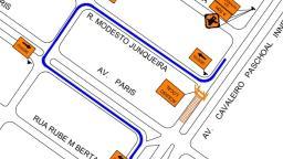 Avenida Paschoal Innechi tem interdição nesta segunda (23)