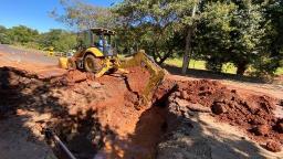 Prefeitura realiza obras na Av. Francisco Pereira Lopes