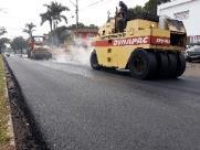 Obras na Bento de Abreu seguem até o fim de semana e deixam trânsito lento na Fonte
