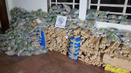 Polícia apreende cerca de 600 quilos de drogas em Araraquara