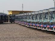 Região de Campinas recebe 50 novos ônibus da EMTU