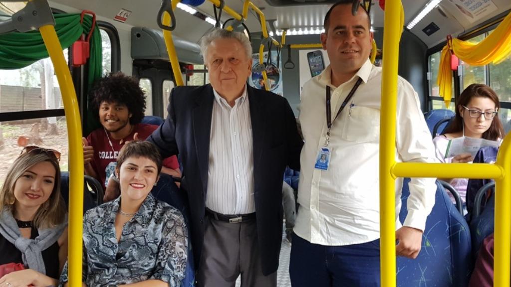 Semana começou com o ônibus da ciência e com o Seminário Caminho das Startups. Foto: Divulgação - Foto: Divulgação