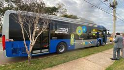 Ônibus elétrico será testado no transporte coletivo de Ribeirão