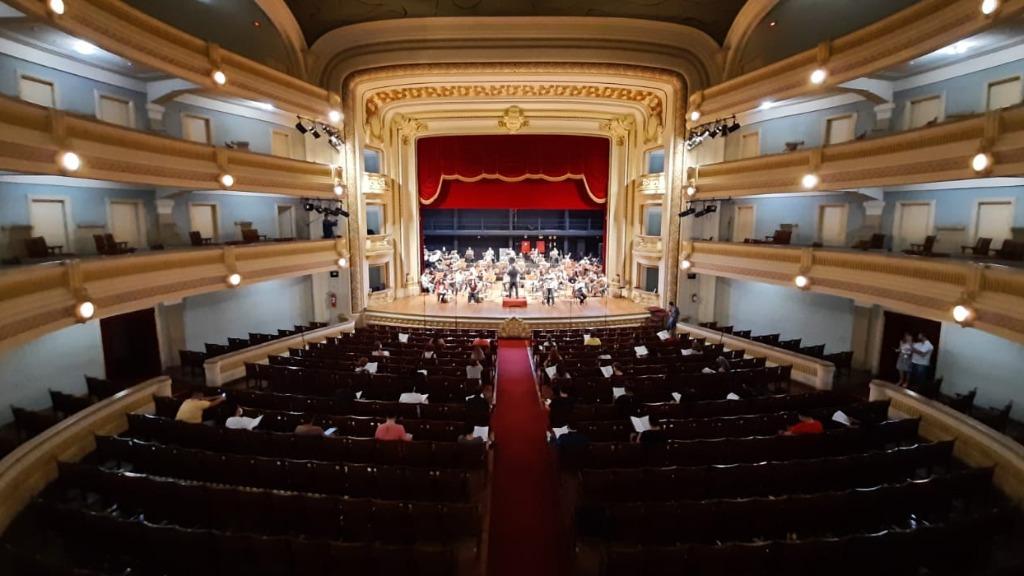 Orquestra e coro ensaiaram ao longo da semana (Foto: Divulgação) - Foto: ACidade ON - Ribeirão Preto