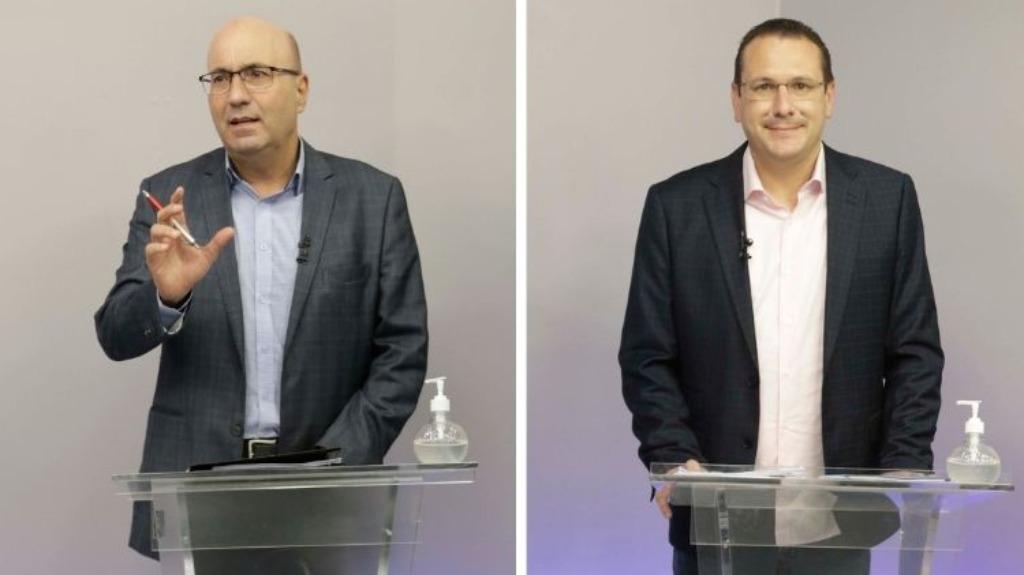Os candidatos Dário Saadi (Republicanos) e Rafa Zimbaldi (PL) (Foto: Código19) - Foto: Código19