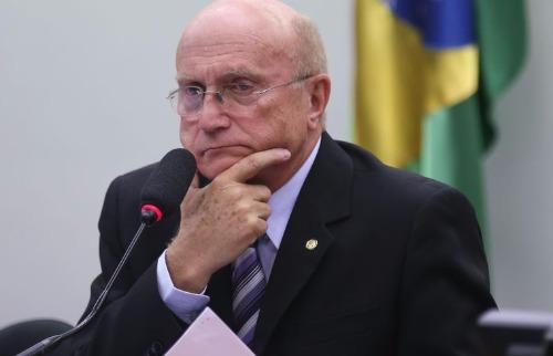 Fabio Rodrigues Pozzebom/Agência Brasil - Presidente da Comissão de Constituição e Justiça da Câmara dos Deputados, Osmar Serraglio, durante reunião do colegiado