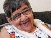 Cotinha morou por 40 anos na Beneficência e agora, ganhou uma família