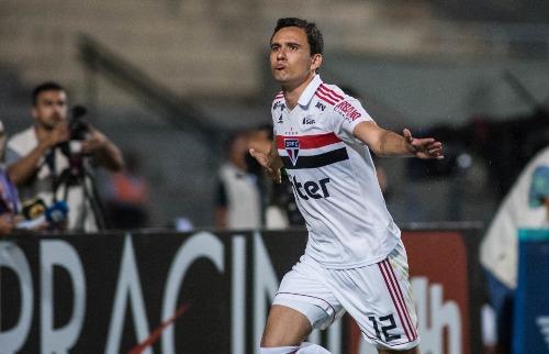 Pablo fez o dele na goleada do São Paulo sobre o Mirassol (Foto: Maurício Rummers/Folhapress) - Foto: Folhapress