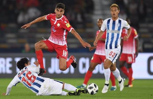 Pachuca venceu o Wyad Casablanca nas quartas-de-final - Foto: Divulgação