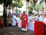 Festa de São Sebastião tem missa na praça XV e sorteio de fusca