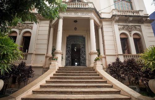 Weber Sian / A Cidade - Palácio Rio Branco, sede da Prefeitura de Ribeirão Preto