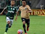 Santos e Palmeiras ficam no zero no Palestra Itália