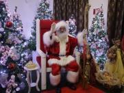 Papai Noel já está na casa do Palace Hotel de Ribeirão