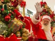 Papai Noel chega em shopping de Araraquara na quarta-feira