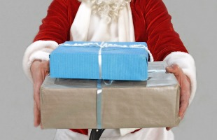 Pixabay - Papai Noel com presentes