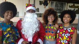 Papai Noel negro amplia representatividade no Natal de Campinas