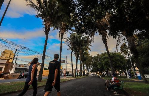 parque infantil clima tempo araraquara (Foto:Amanda Rocha) - Foto: Amanda Rocha