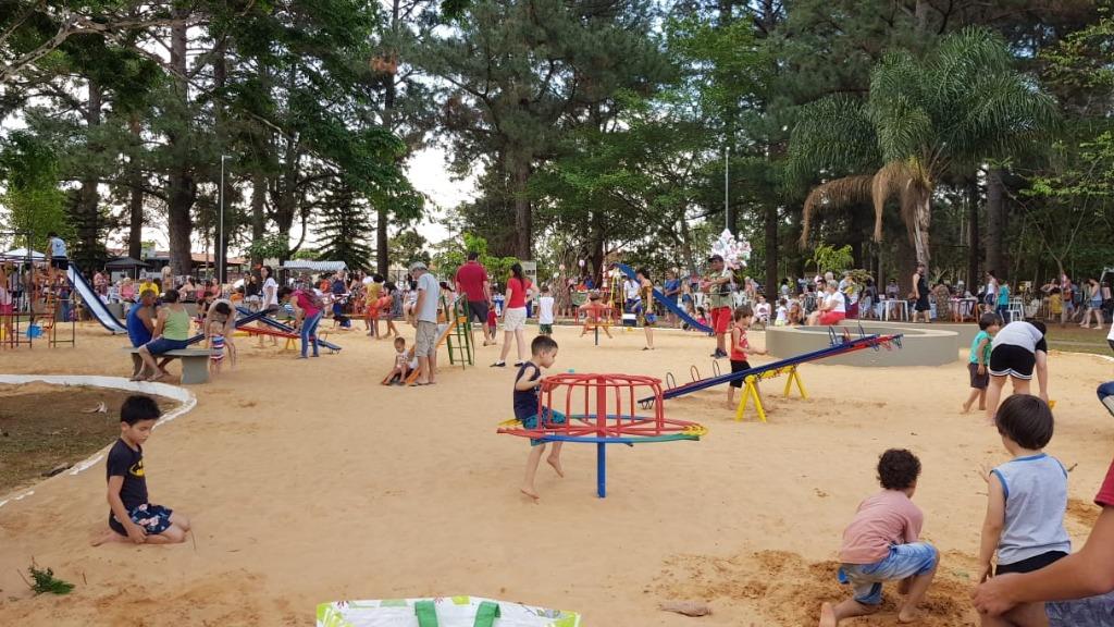 Parque Vivo propõe diversas opções ao ar livre para curtir o Parque do Botânico - Foto: ACidade ON - Araraquara