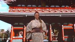 Patrícia Poeta usa quimono japonês e é acusada de apropriação cultural