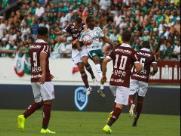 Ferroviária fica no empate com Palmeiras em jogo na Arena da Fonte