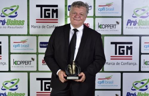 Murilo Moraes / Divulgação - Paulo Gallo esteve entre as autoridades homenageadas pelo MasterCana em 2016 (Foto: Murilo Moraes / Divulgação)