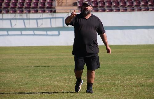 ACidade ON - Araraquara - PC de Oliveira durante treino na manhã desta terça-feira na Arena da Fonte ( Thiago Carvalho/Assessoria Ferroviária)