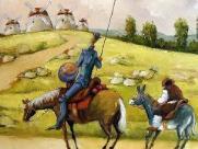 Peça baseada em Dom Quixote é atração no Iguatemi neste domingo (31)