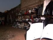 Polícia Militar descobre galpões usados para desmanche de veículos
