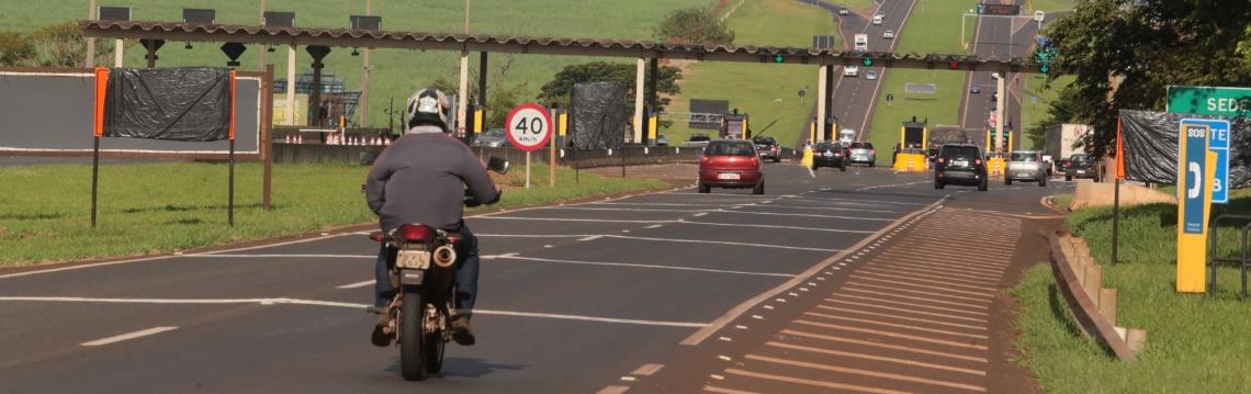 Pedágio: Praça em Sertãozinho terá cobrança para motociclistas (foto: Matheus Urenha / A Cidade) - Foto: Matheus Urenha / A Cidade