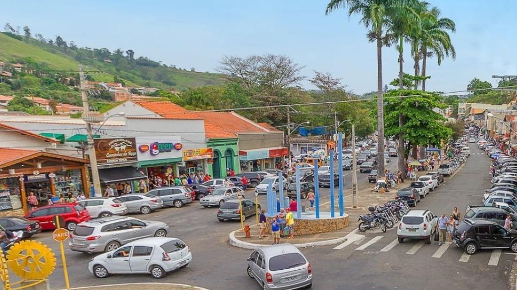 Centro comercial de Pedreira (Foto: Divulgação) - Foto: Divulgação