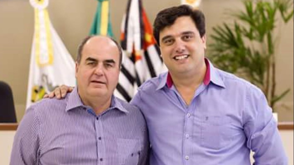 Hamilton Bernardes e Fabio Polidoro reeleitos prefeito e vice-prefeito de Pedreira (Foto: Divulgação) - Foto: Divulgação
