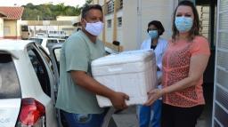 Pedreira começa a vacinar idosos a partir de 85 na segunda