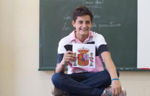Matheus Urenha / A Cidade - Pedro Avila Marques iniciou as aulas de espanhol há três meses