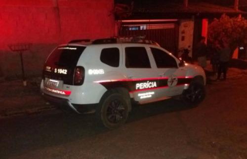 Perícia analisa cena do homicídio - Foto: ACidade ON - São Carlos