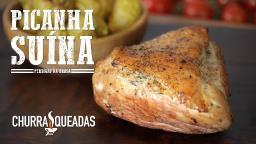 Picanha Suína com Batatas na Mostarda