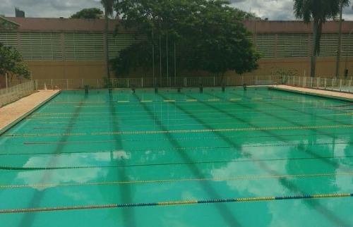 Arquivo pessoal - Água de piscina da Cava ficou esverdeada nesta quinta-feira