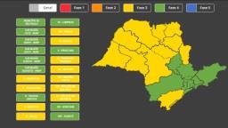 Ribeirão Preto fica na fase amarela do Plano São Paulo