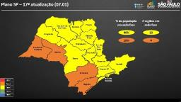 Governo João Doria atualiza o Plano São Paulo nesta sexta